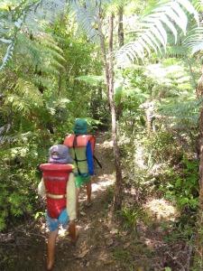 bush walk to waterhole